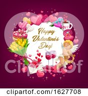 Poster, Art Print Of Happy Valentines Day Greeting