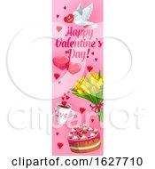Valentines Day Vertical Website Banner