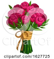 Poster, Art Print Of Valentines Day Bouquet