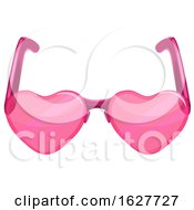 Poster, Art Print Of Valentines Day Heart Sunglasses