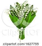 Poster, Art Print Of Valentines Day Lily Of The Valley Bouquet