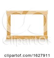 Poster, Art Print Of Wooden Pixel Art Background Sign