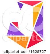 Poster, Art Print Of Letter J Logo