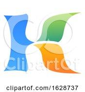 Poster, Art Print Of Letter K Logo