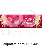 Poster, Art Print Of Valentines Day Website Banner