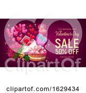 Poster, Art Print Of Valentines Day Sale Design
