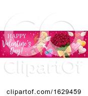 Poster, Art Print Of Valentines Day Website Banner