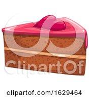Poster, Art Print Of Valentines Day Cake Slice