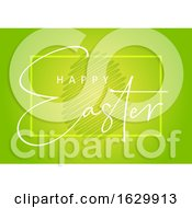 Poster, Art Print Of Happy Easter Text Background