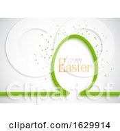 Poster, Art Print Of Simple Easter Egg Background