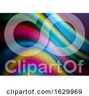 Abstract Background With A Rainbow Flow Design