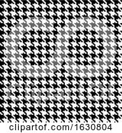 Houndstooth Pattern Background