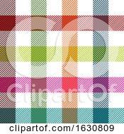 Gingham Pattern Background