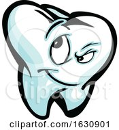 Tooth Mascot Character
