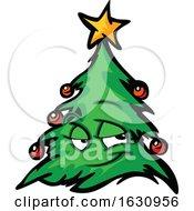 Christmas Tree Mascot Character