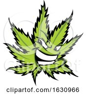 Cannabis Marijuana Pot Leaf Weed Mascot Character
