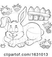 Poster, Art Print Of Sleeping Easter Bunny