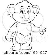 Koala Presenting