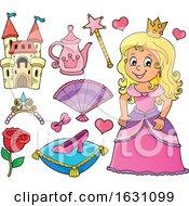 Poster, Art Print Of Princess And Icons