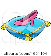 Princess Slipper On A Pillow