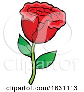 Poster, Art Print Of Red Rose