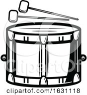 Black And White St Patricks Day Drum