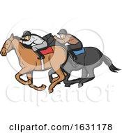 Poster, Art Print Of Equestrian Sports Horse Design