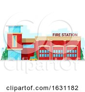 Fire Station by Vector Tradition SM