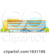 Poster, Art Print Of University Building