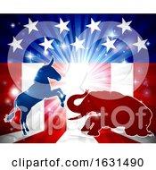 Poster, Art Print Of Democrats Vs Republicans