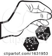 Hand Rolling Dice