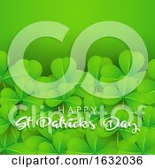 Background Of Shamrock For St Patricks Day by KJ Pargeter