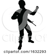 Poster, Art Print Of Soldier Detailed Silhouette