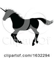 Poster, Art Print Of Unicorn Silhouette Horned Horse