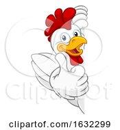 Chicken Rooster Cockerel Bird Cartoon Character