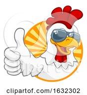 Chicken Rooster Cockerel Bird Sunglasses Cartoon