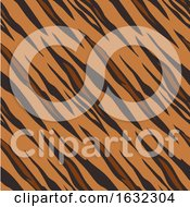 Tiger Animal Print Pattern Seamless Tile