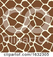 Giraffe Animal Print Pattern Seamless Tile