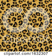 Cheetah Animal Print Pattern Seamless Tile