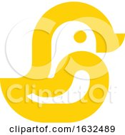 03/04/2019 - Set Of Icons Or Logo Templates With Little Birds Duck Sparrow Penguin And Parrot Isolated On A White Background Line Art Style