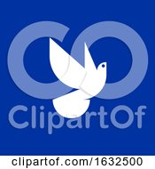 Poster, Art Print Of Peace Dove Icon Or Logo Template