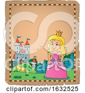 Princess And Castle Border