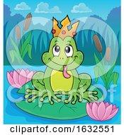 Frog Prince by visekart