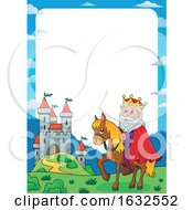 Poster, Art Print Of King And Castle Border