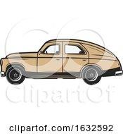 Poster, Art Print Of Retro Classic Car