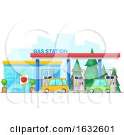 Gas Station Building Storefront