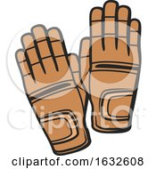 Poster, Art Print Of Equestrian Gloves
