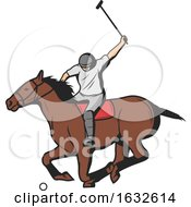 Horseback Polo Player