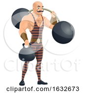 Circus Strongman by Vector Tradition SM
