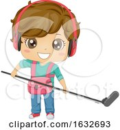 Kid Boy Audio Man Illustration
